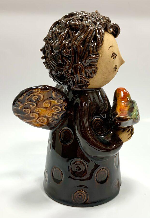 Lietuvas keramika - dekors eņģeļu meitene 2