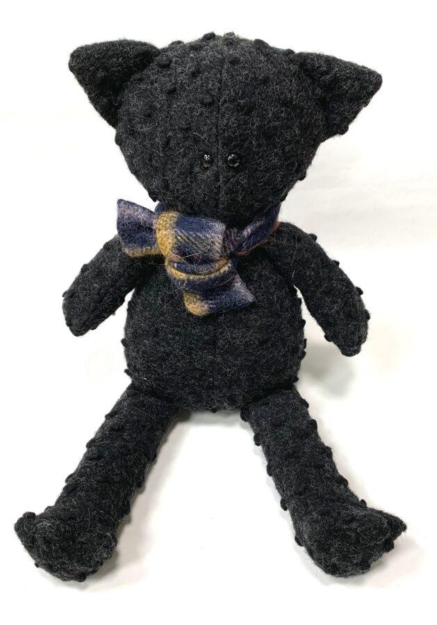 Interjera dekors - Kaķis Melnītis