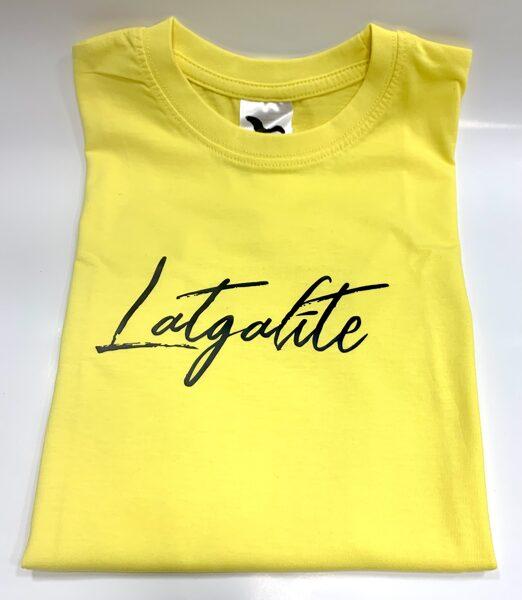 T-krekls bērnam - Latgalīte dzeltens